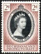1953_Coronation_Bechuanaland_Protectorate_stamp