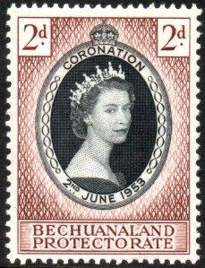 1953_Coronation_Bechuanaland_Protectorate_stamp